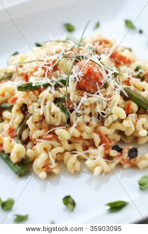 Fusilli with Salmon