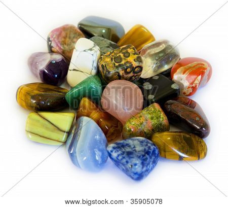 Colorful Stones (isolate)