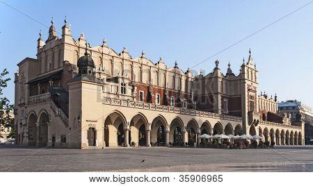 Sukiennice In Krakow, Poland