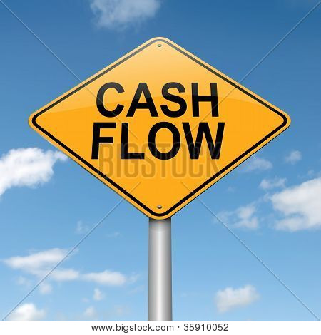Cash Flow Concept.