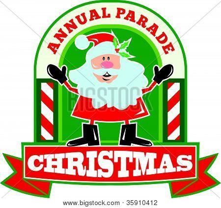 Desfile de Navidad de Santa Claus