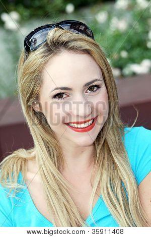 Beautiful Trendy Young Woman