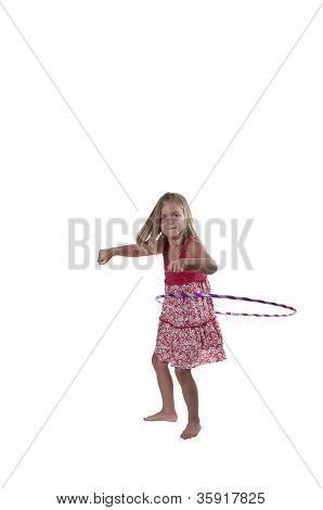 Girl With Hula Hoop