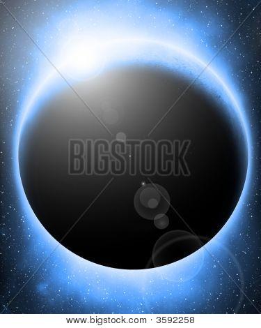 Alien Blue Planet