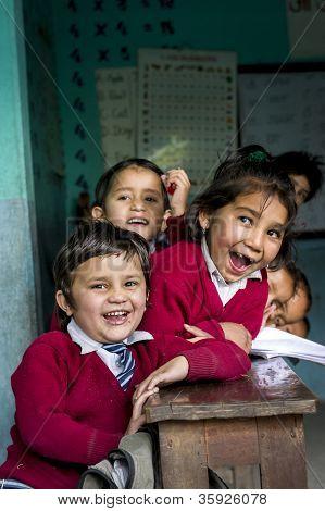 Nepal's Children At School