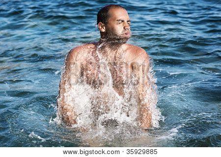 Man On Sea