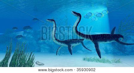 Plesiosaurus Dinosaur