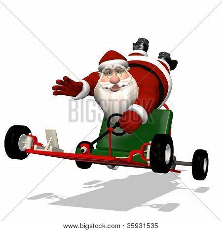 Santa Runaway Go Kart