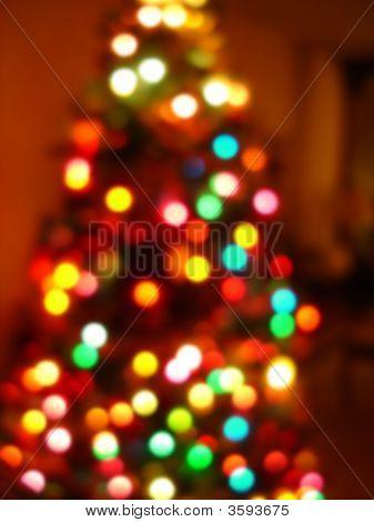 Christmas Tree Blur