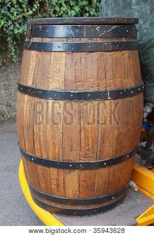 Barrel cask