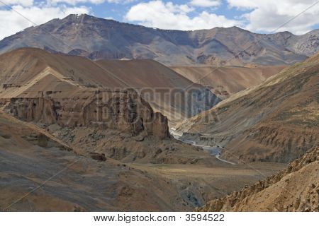 Arid Mountains Of Ladakh