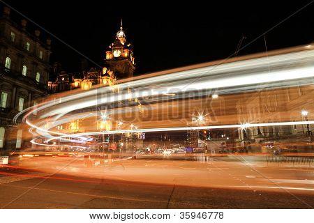 night drive at edinburgh