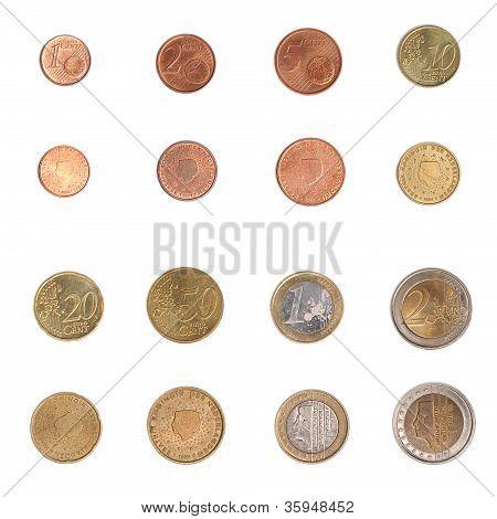 Euro coin - Nederlands
