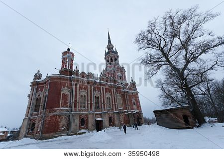Church of Icon of the Virgin Hodegetria in Vyazma. Smolensk region. Russia.