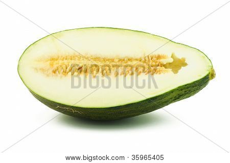 Half Of Piel De Sapo Melon