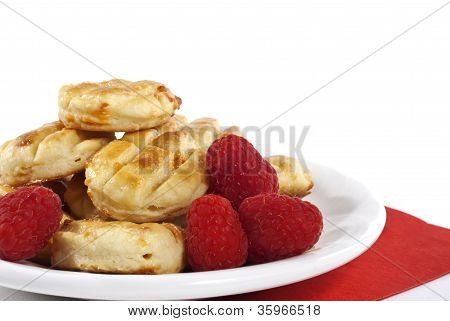Pastries And Raspberries