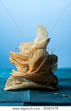 Potato Chips Stack