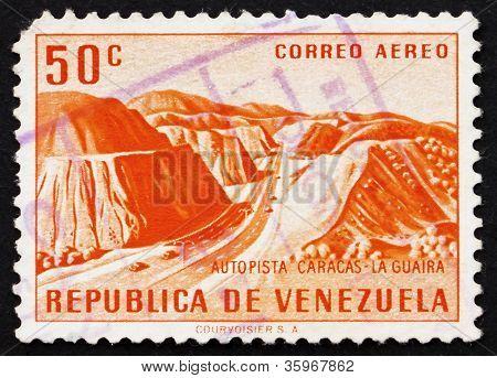 Postage stamp Venezuela 1956 Caracas