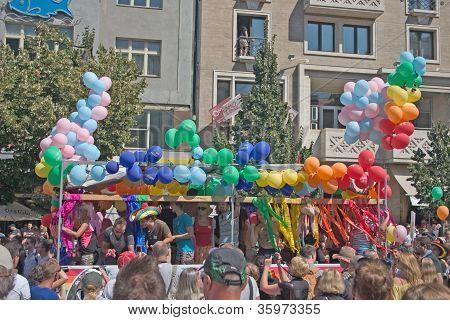 Prague Pride Pararde 2012