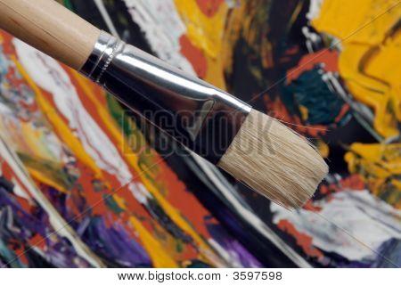Malerei-Pinsel