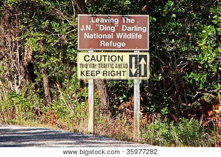 Ding Darling Sign