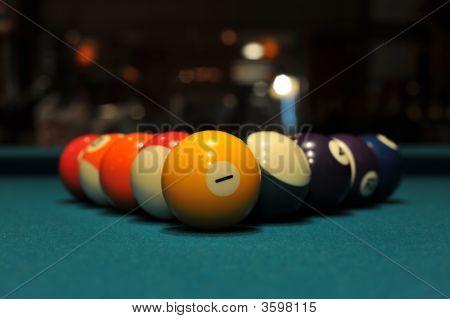 8 Ball Pool Rack