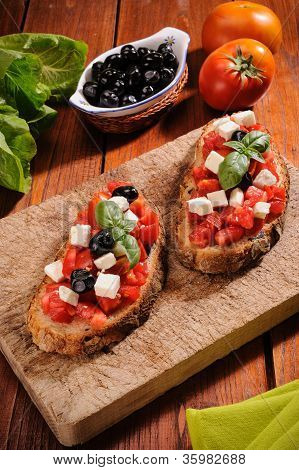 Bruschetta With Tomato
