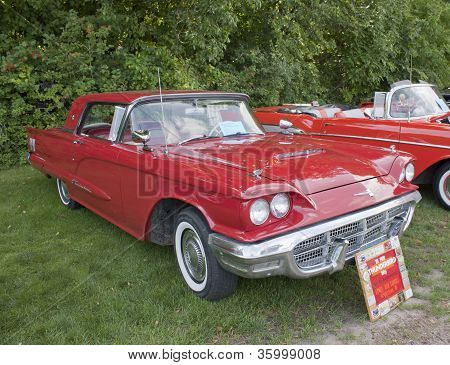 1960 Ford Thunderbird Side View