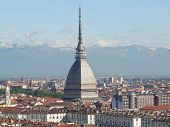 foto of torino  - View of the city of Turin - JPG