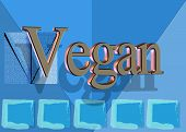 Vegan Descriptive Text And Background