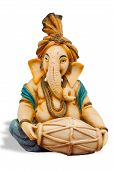 picture of hindu-god  - A statue of the beloved Hindu elephant god Ganesha  - JPG