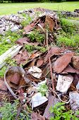 picture of scrap-iron  - rusted scrap - JPG