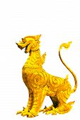 picture of annal  - Beauty of the golden dragon in Thailand - JPG