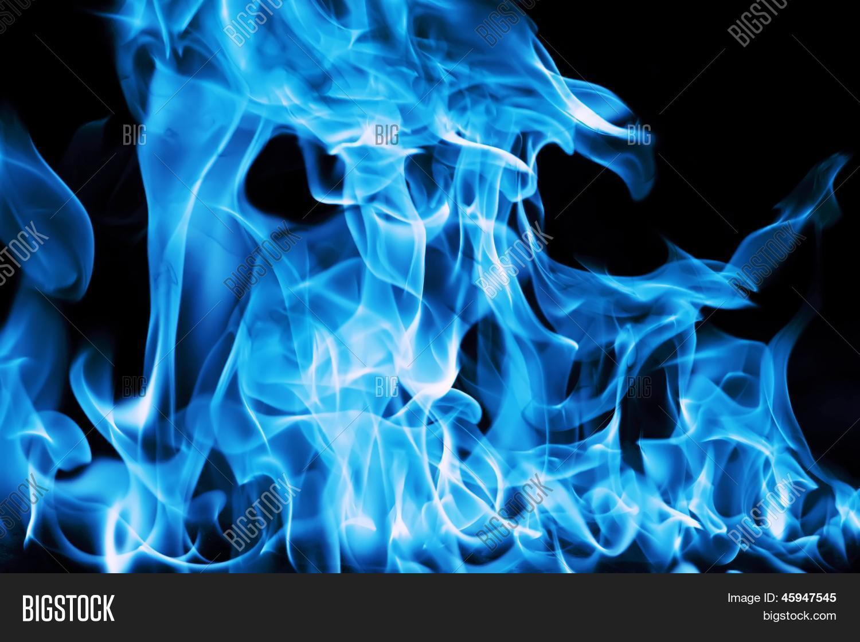 Как сделать синее пламя