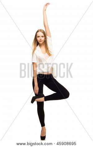 Beautiful Young Girl Posing