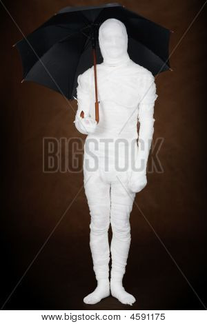 Mummy With Umbrella