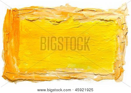 art daub watercolor yellow background abstract paper texture iso