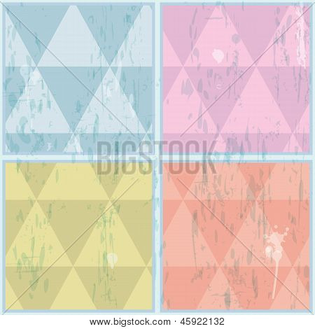 Ruitvormige patroon. Abstract, vector, EPS10