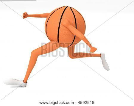 Basket Ball Running