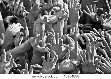 Hands Of Sin Men In Hell