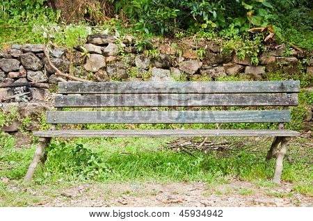 Unbalance Bench At Khachoedpalri Lake