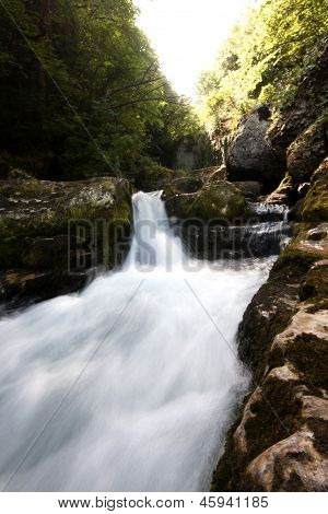 Sassenage Waterfall - In Grenoble France