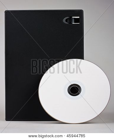 Cd Dvd Disk With Cd Dvd Box