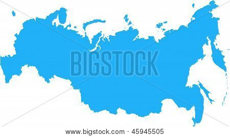 Russian Federation Map