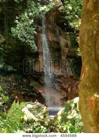 Hidden Volcanic Waterfall