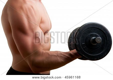 Standing Bicep Dumbbell Curl