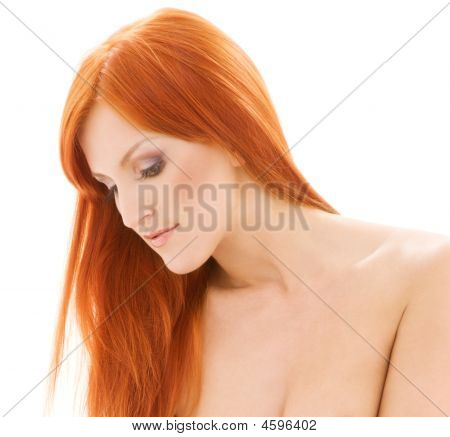 Healthy Naked Redhead