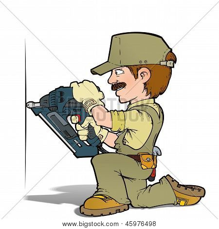 Handyman - Nailing Khaki