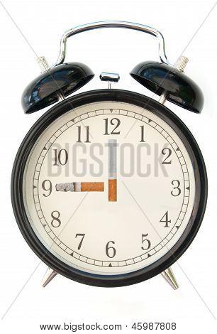 Cigarette Clock