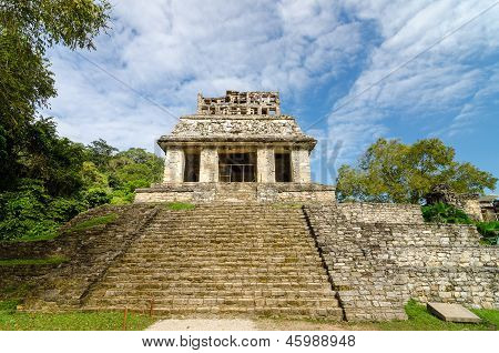 Palenque Temple Steps